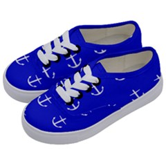 Royal Anchors Kids  Classic Low Top Sneakers by snowwhitegirl