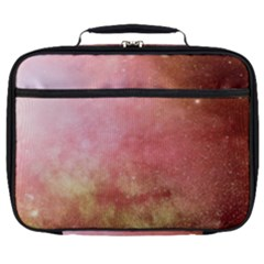 Galaxy Red Full Print Lunch Bag by snowwhitegirl