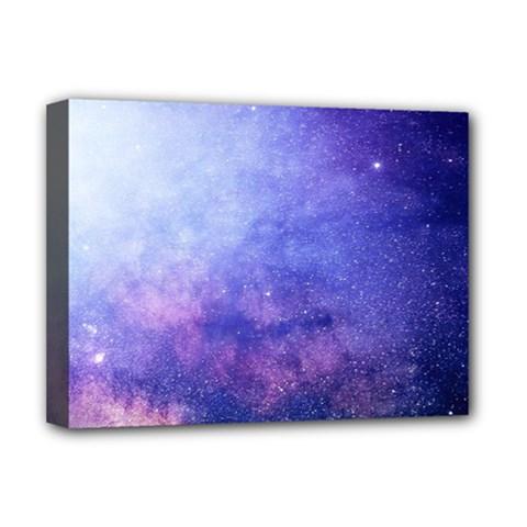 Galaxy Deluxe Canvas 16  X 12   by snowwhitegirl