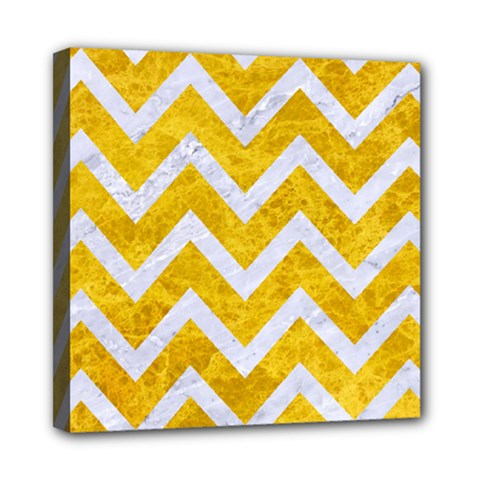 Chevron9 White Marble & Yellow Marble Multi Function Bag	 by trendistuff