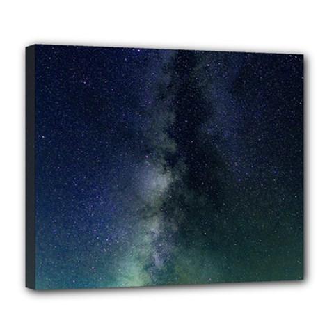 Galaxy Sky Deluxe Canvas 24  X 20   by snowwhitegirl