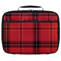 Red Plaid Full Print Lunch Bag by snowwhitegirl