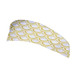 SCALES2 WHITE MARBLE & YELLOW DENIM (R) Stretchable Headband