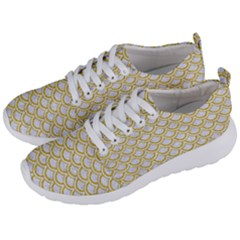 SCALES2 WHITE MARBLE & YELLOW DENIM (R) Men s Lightweight Sports Shoes