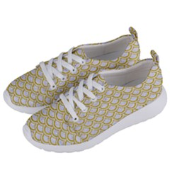 SCALES2 WHITE MARBLE & YELLOW DENIM (R) Women s Lightweight Sports Shoes