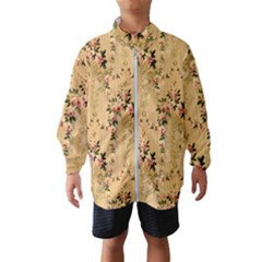 Vintage Floral Pattern Wind Breaker (kids)