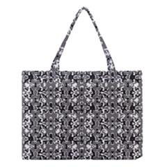 Dark Camo Style Design Medium Tote Bag by dflcprints