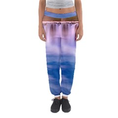 Waterfall Women s Jogger Sweatpants by snowwhitegirl