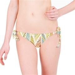 Decorative  Seamless Pattern Bikini Bottom by TastefulDesigns
