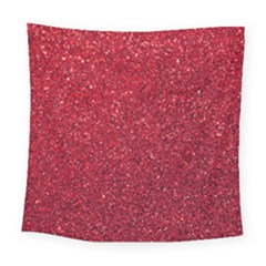 Red  Glitter Square Tapestry (large) by snowwhitegirl