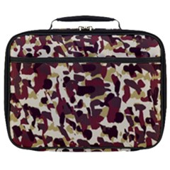 Red Camo Full Print Lunch Bag by snowwhitegirl