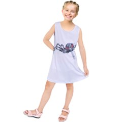 Bionic Spider Cartoon Kids  Tunic Dress