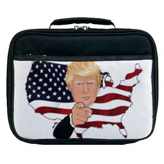Trump Usa Flag Lunch Bag by ImagineWorld