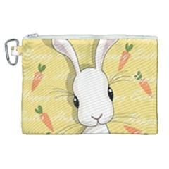 Easter Bunny  Canvas Cosmetic Bag (xl)