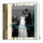 Ayesha and Kevin Wedding Book - 8x8 Photo Book (20 pages)