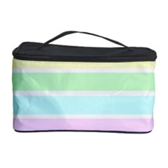 Geometric Pastel Design Baby Pale Cosmetic Storage Case