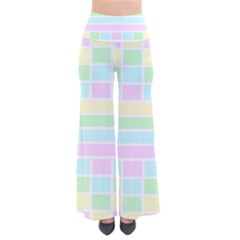 Geometric Pastel Design Baby Pale Pants