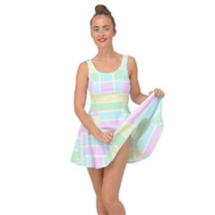 Geometric Pastel Design Baby Pale Inside Out Dress