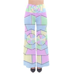 Color Wheel 3d Pastels Pale Pink Pants by Nexatart