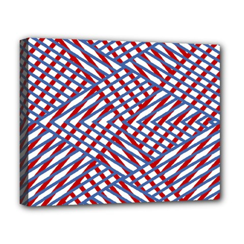 Abstract Chaos Confusion Deluxe Canvas 20  X 16   by Nexatart