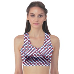 Abstract Chaos Confusion Sports Bra