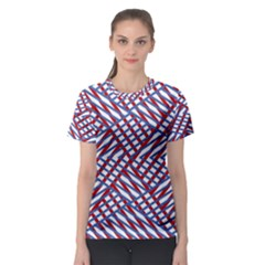 Abstract Chaos Confusion Women s Sport Mesh Tee