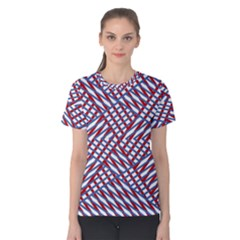 Abstract Chaos Confusion Women s Cotton Tee