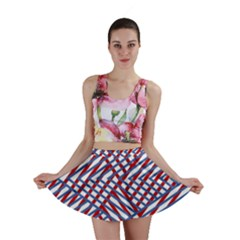 Abstract Chaos Confusion Mini Skirt