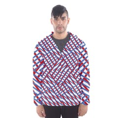Abstract Chaos Confusion Hooded Wind Breaker (men)