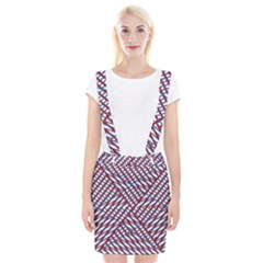 Abstract Chaos Confusion Braces Suspender Skirt