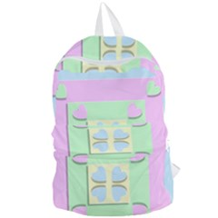 Hearts 3d Decoration Design Love Foldable Lightweight Backpack