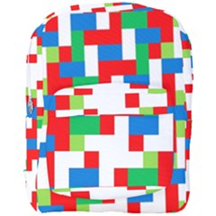 Geometric Maze Chaos Dynamic Full Print Backpack