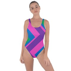 Geometric Rainbow Spectrum Colors Bring Sexy Back Swimsuit