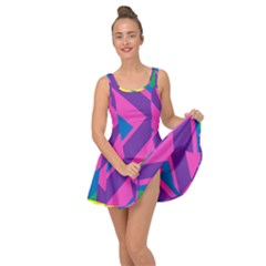 Geometric Rainbow Spectrum Colors Inside Out Dress
