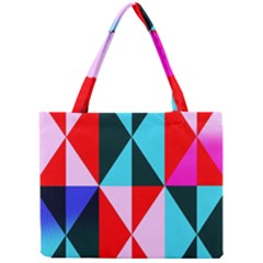 Geometric Pattern Design Angles Mini Tote Bag