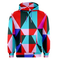 Geometric Pattern Design Angles Men s Pullover Hoodie