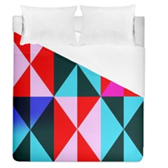 Geometric Pattern Design Angles Duvet Cover (queen Size)