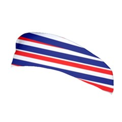 Red White Blue Patriotic Ribbons Stretchable Headband
