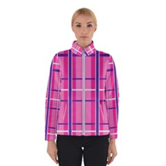 Gingham Hot Pink Navy White Winterwear