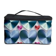 Valentine Valentine S Day Hearts Cosmetic Storage Case by Nexatart
