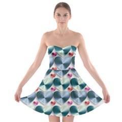 Valentine Valentine S Day Hearts Strapless Bra Top Dress