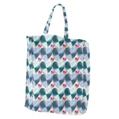 Valentine Valentine S Day Hearts Giant Grocery Zipper Tote