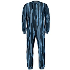 Texture Surface Background Metallic Onepiece Jumpsuit (men)