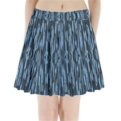 Texture Surface Background Metallic Pleated Mini Skirt