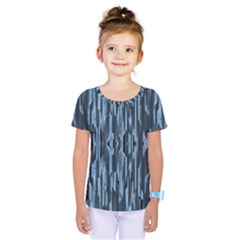 Texture Surface Background Metallic Kids  One Piece Tee