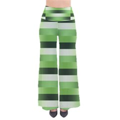 Pinstripes Green Shapes Shades Pants