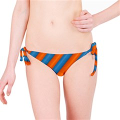 Diagonal Stripes Striped Lines Bikini Bottom