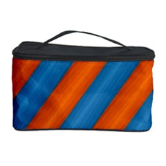 Diagonal Stripes Striped Lines Cosmetic Storage Case
