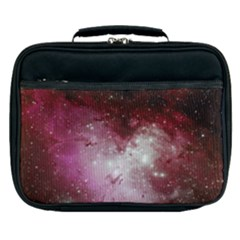 Nebula Red Lunch Bag by snowwhitegirl