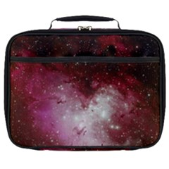 Nebula Red Full Print Lunch Bag by snowwhitegirl